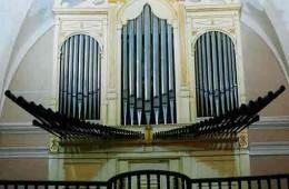 Órgano de la Parroquia de Monreal del Campo