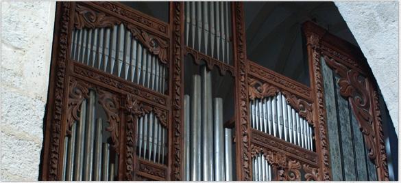 Restauración de órganos históricos
