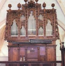 (Español) Órgano del Monasterio de Santa María