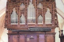 Órgano del Monasterio de Santa María