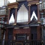 Órgano de la Sacra Capilla del Salvador en Úbeda
