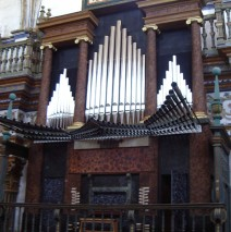 Órgano de la Sacra Capilla del Salvador