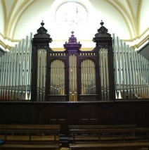 Órgano de Carmelitas de Vitoria. Àlava