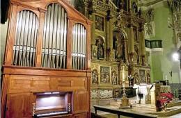 Órgano de San Gil Abad. Zaragoza